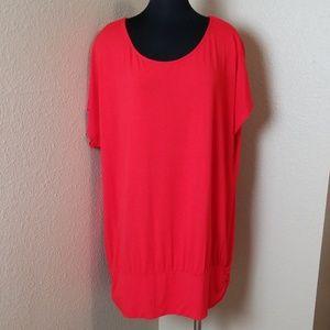 Elena Mira Red Dress Size XL